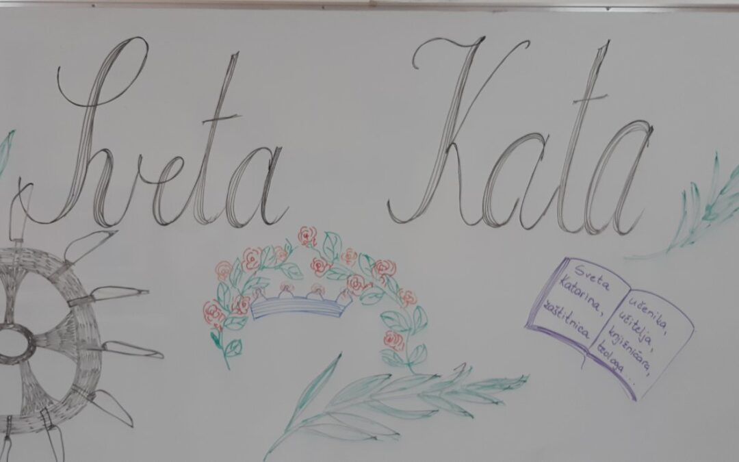 Učenici četvrtih razreda obilježili su blagdan Svete Kate