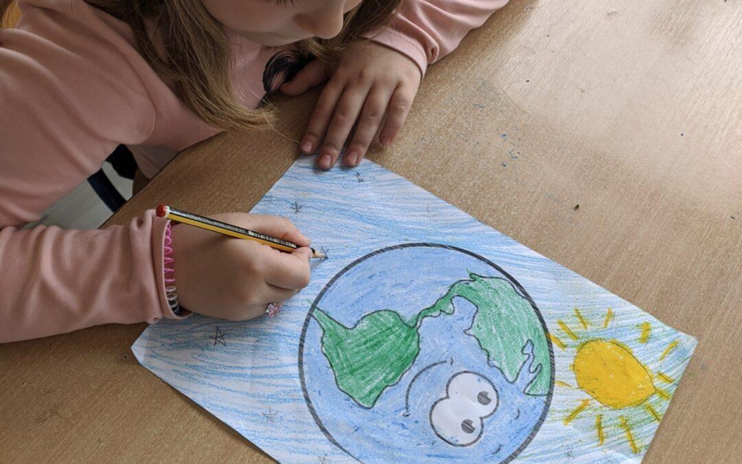 Učenici II.b obilježili su Dan planeta Zemlje