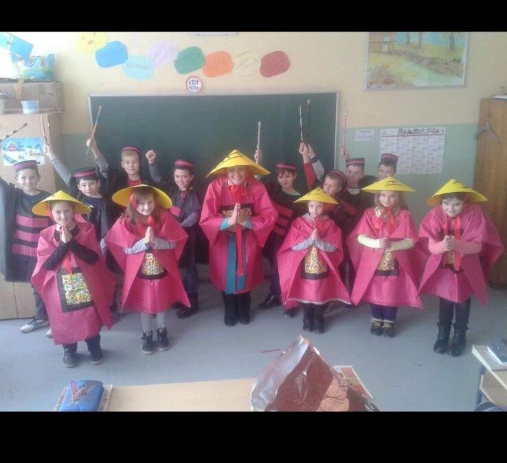 Učenicima IX.b od učiteljice
