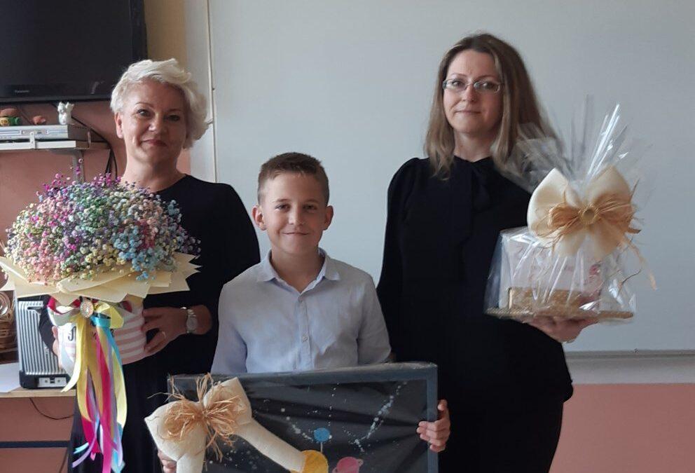 Učenik naše škole, Marino Lekić je uz vodstvo svoje učiteljice Eve Rajković u ovoj školskoj godini završio dva razreda