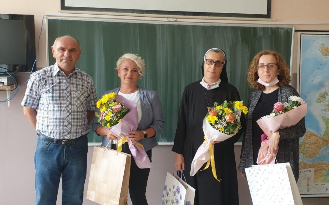 """Najistaknutiji djelatnici OŠ """"Bila"""" za školsku 2020./2021. godini"""